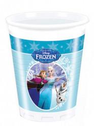 8 copos de plástico Ana e Esla Frozen™