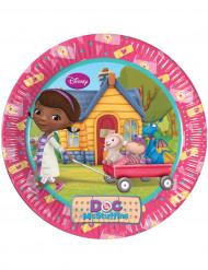8 Pratos Doutora Brinquedos™
