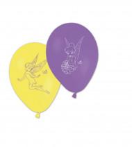 8 balões com Estampado da Fada Sininho™