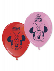 lot de 8 balões de 28cm com estampado da Minnie ™