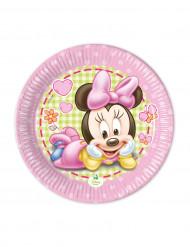 8 Pratos Bébé Minnie™