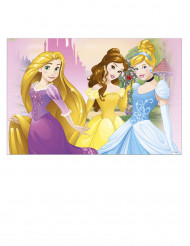 Protecção de mesa em plástico das Princesas Disney™ 120x180cm