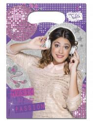 6 Sacos de festa Violetta™ 16.5 x 23 cm