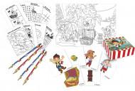 Kit artístico - Jake e os Piratas da Terra do Nunca™