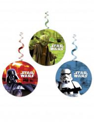 3 Decorações para pendurar Star Wars™