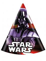 6 Chapéus de festa Star Wars™