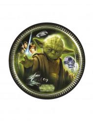 8 Pratos Star Wars™ 20 cm
