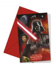 6 Convites Star Wars™