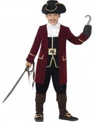 Disfarce capitão pirata para o carnaval