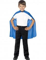 Capa azul criança