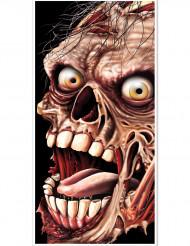 Decoração de porta Zombie Halloween