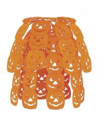 Decoração para pendurar cascata abóbora Halloween