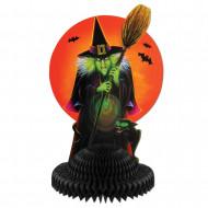 Centro de mesa Bruxa Halloween