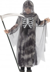 Disfarce ceifeiro fantasma menino Halloween