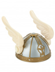 Capacete de gaulês com asas  adultos