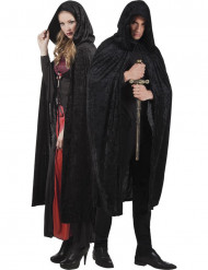 Capa preta adulto Halloween