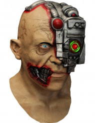 Máscara integral animada de ciborgue - aplicação smartphone
