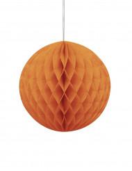 Favo de mel cor de laranja Halloween