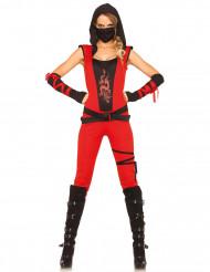 Disfarce ninja mulher