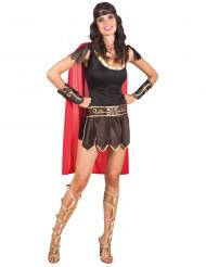 Disfarce gladiadora romana sexy mulher