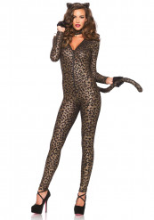 Disfarce leopardo sexy mulher