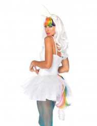 Kit unicórnio colorido mulher