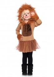 Disfarce de leão para menina