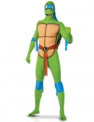 Fato de Leonardo das Tartarugas Ninja™- segunda pele adulto