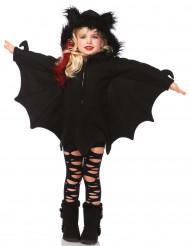 Disfarce morcego menina Halloween