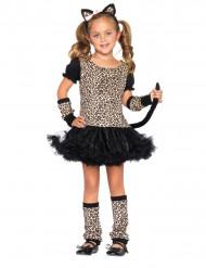 Disfarce leopardo menina