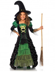 Disfarce de bruxa menina Halloween