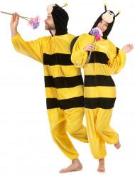 Disfarce abelha com asas adulto