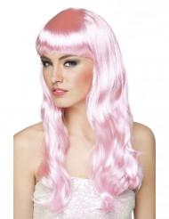 Peruca rosa mulher