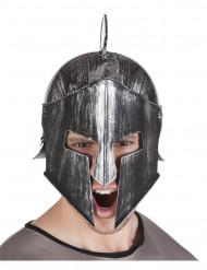 Capacete cavaleiro guerreiro adulto