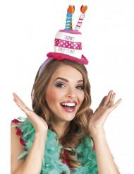 Bandolete chapéu aniversário adulto