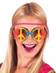 óculos hippie multicores