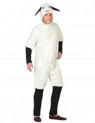 Disfarce ovelha homem