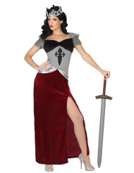 Disfarce cavaleira mulher