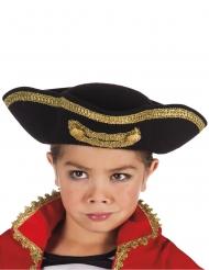 Chapéu capitão pirata criança