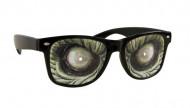 Óculos olhos de monstro Halloween