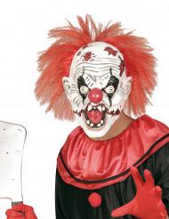 Máscara látex palhaço assassino adulto Halloween