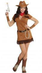 Disfarce de Cowgirl do Oeste para mulher