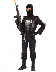 Disfarce SWAT criança