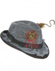 Chapéu borsalino buraco para rato adulto Halloween