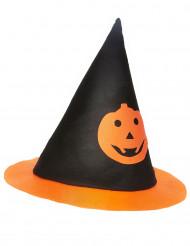 Chapéu bruxa abóbora criança Halloween