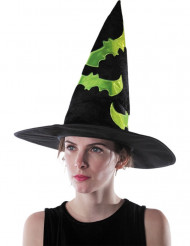Chapéu de bruxa para adulto Halloween
