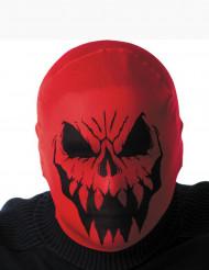 Carapuço monstro vermelho adulto Halloween