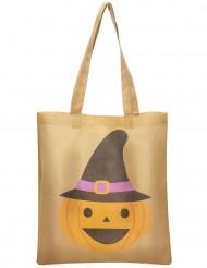 Saco para rebuçados abóbora Halloween
