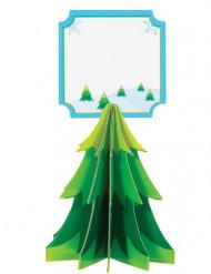 4 Marcadores de lugar Pinheiro Natal