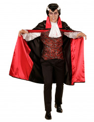 Disfarce vampiro com jabot homem Halloween